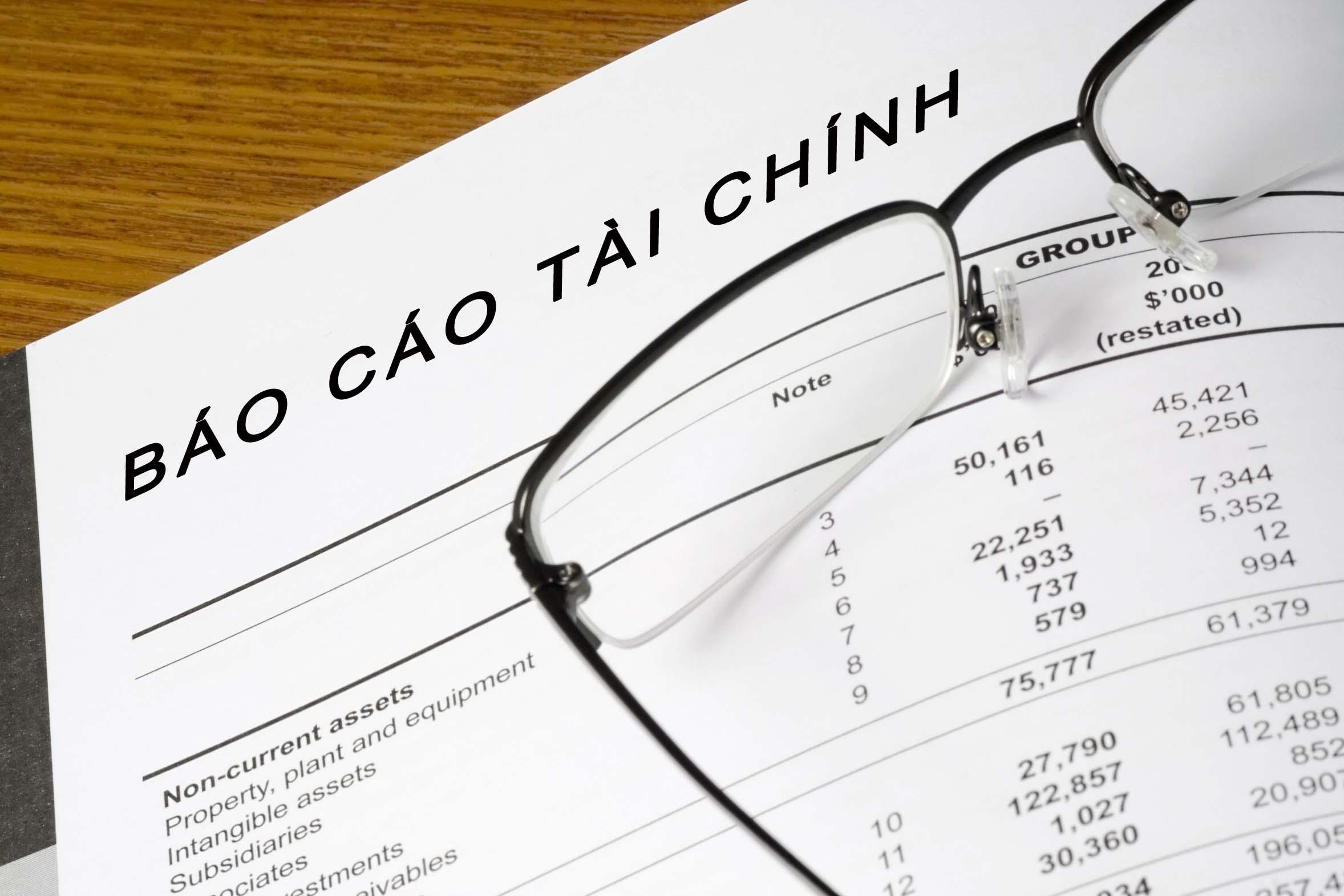Báo cáo tài chính Quý III/2016 của công ty con – Công ty cổ phần hóa chất Đức Giang Lào Cai