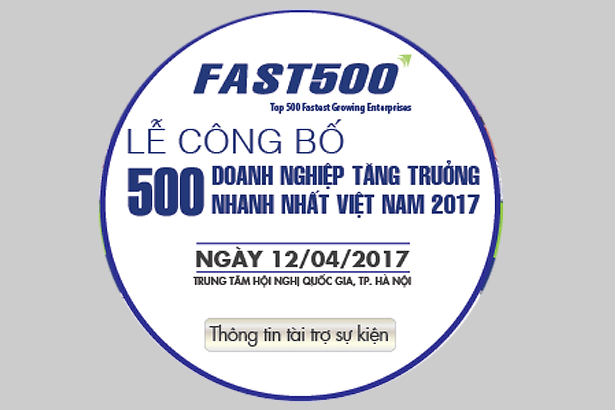 Bột Giặt & Hóa chất Đức Giang tự hào lọt vào TOP 10 doanh nghiệp tăng trưởng nhanh nhất Việt Nam