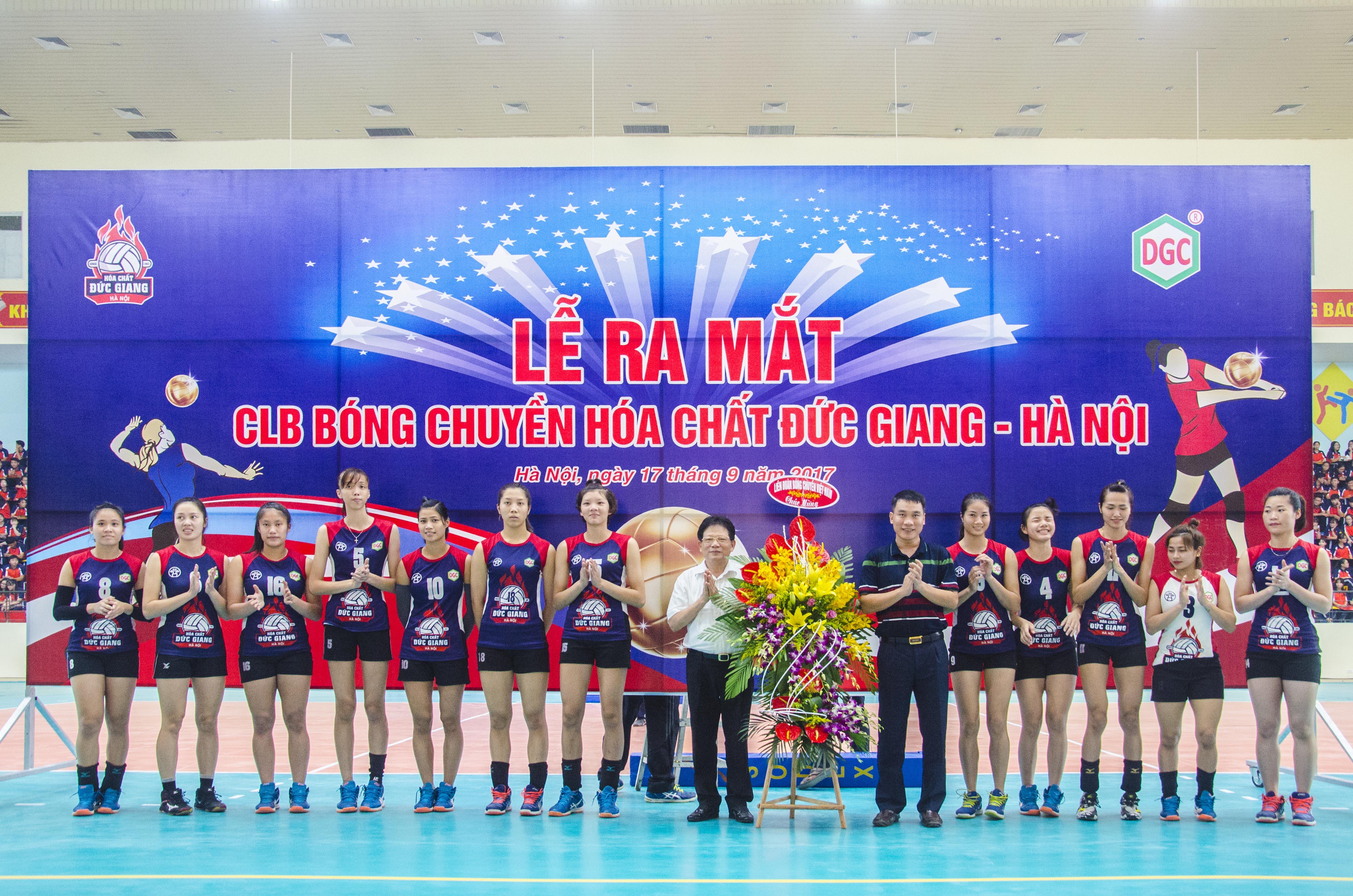 Lễ Ra Mắt Đội Bóng Chuyền Hóa Chất Đức Giang – Hà Nội